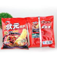 Bolso de empaquetado plástico modificado para requisitos particulares del alimento de bocado utilizado en tallarines inmediatos y galletas
