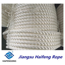 Corda de nylon do PE da corda da corda da amarração da corda do filamento do polipropileno da 3-Corda