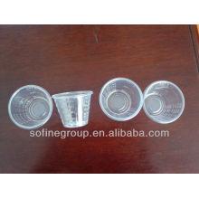 30ML PP Medizin Cup, Plastik Einmal-Messbecher für Medizin mit CE & ISO, Flüssigmedizin Flasche mit Messbecher