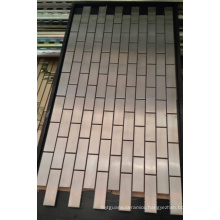 Mosaic Wall Tile, Stainless Steel Metal Mosaic (SM264)