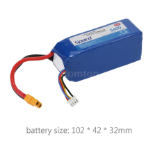 Drone Lipo Battery 3S 5400MAh 10C 11.1V Lipo