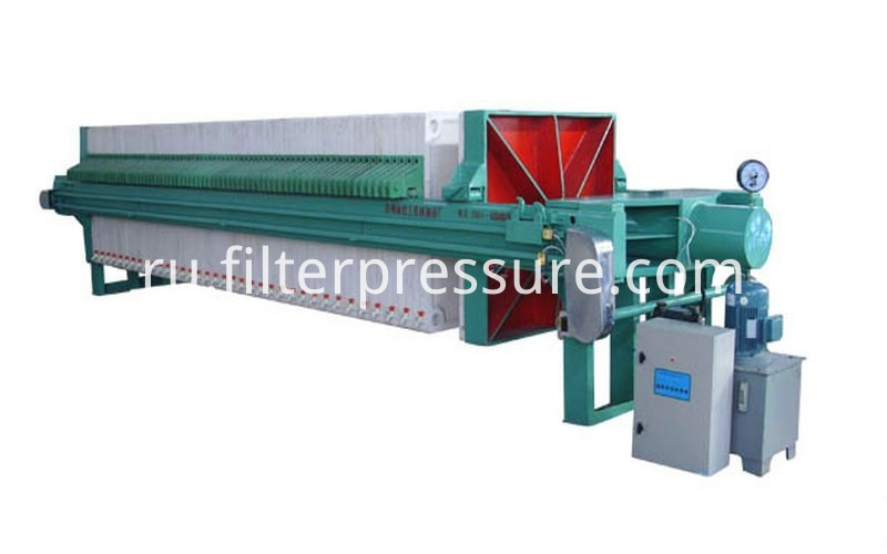 Starch Plate Frame Filter Press 2