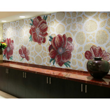 Bisazza Mosaic Pattern Tile Wall Picture Tile (HMP755)