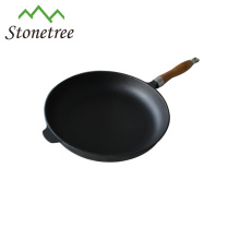 High Quality 2017 New Round Cast Iron Cookware Non-Stick Cast Iron Skillet