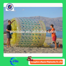 Environmental protection hot sell orb wheel custom water roller, funny inflatable water running ball for sale