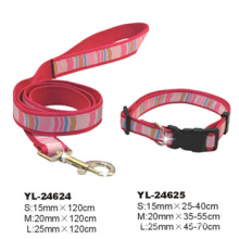 Pet Fashion Collar & Lead (YL-24624 & 24625)