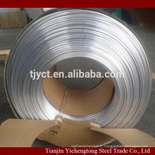 Tuyau en aluminium pur de 12mm de mur mince 1060