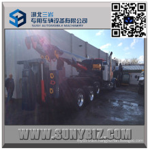 50 Ton Sliding Rotator Heavy Duty Recovery Truck Body