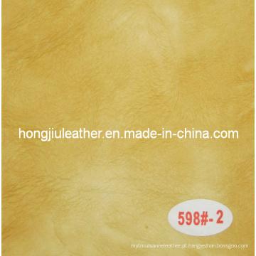 Venda de fábrica diretamente sipi couro para sofá