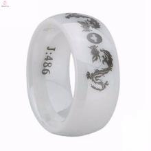 Custom Eternal Love Engagement Ceramic Ring With Best Price