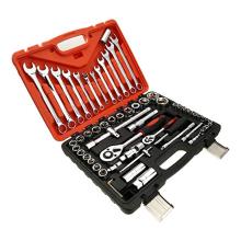 122 pcs socket set plastic box mechanical workshop tool wrench