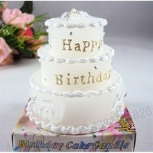 Multi-layer Birthday Cake Candle for Party
