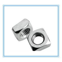 DIN 557 de l'écrou carré mince avec l'acier inoxydable