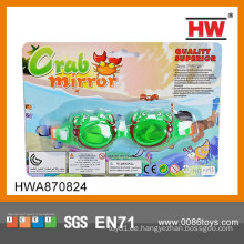 Lustige grüne Plastikkindes Sommer-Schwimmen-Sport-Schutzbrillen