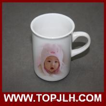 Tasse en céramique lisse brillant Surface Aboraal blanc