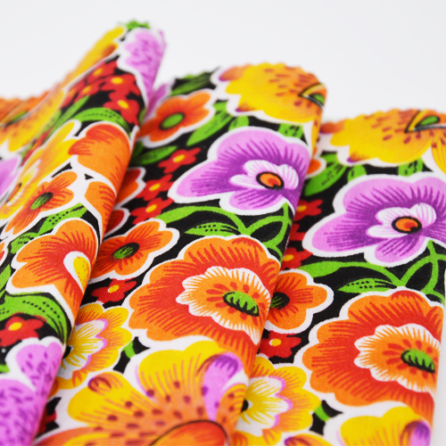 T / C 65/35 Printed Plain Fabric