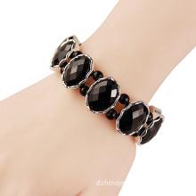 Acrylic Stone Diamond Stretch Bangle Design Crystal Bracelet