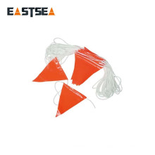 Exportation vers la corde de ligne de drapeau en nylon durable couleur blanche globale de 30 mètres