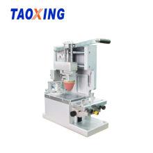 Máquina de impressão manual da almofada do copo da tinta