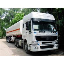 Camion de réservoir de carburant de semi-remorque