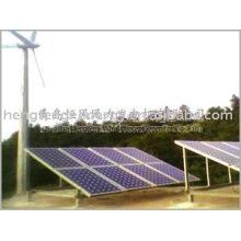solar e gerador de vento híbrido para a energia verde