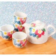 Популярный дизайн в наборе керамических чайных чашек