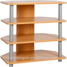 Corner TV Unit - Beech Effect