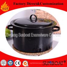 Ustensiles de cuisine de ménage de Sunboat de pot de émail de 7qt