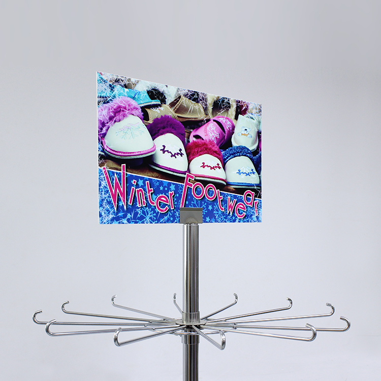Metal Shoe Display Rack