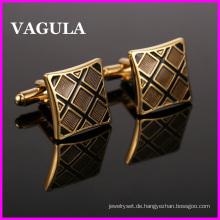 VAGULA Qualität Messing Emaille Manschettenknöpfe (HL10128)