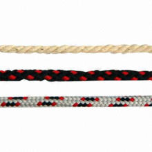 Eco-friendly Polyester Ropes, Ideal for Garment Accessories, Different Colors are Available