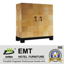 Светлый мягкий цветной декоративный шкаф для гостиничной гостиной (EMT-DC02)