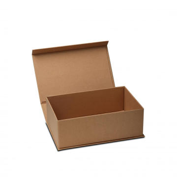 Brown Kraft Collapsible Gift Box with Magnet