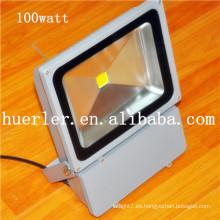 Altos lúmenes 120 grados 220v 240v ip66 llevó la iluminación del jardín 100w
