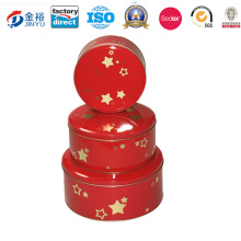 Customized Printed Tin Can Round Money Box Jy-Wd-2015122616