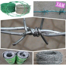 Galvanized Double strand/single strand Barbed Wire
