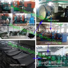 High Quality Rubber Powder Production Line Reclaimed Rubber Making Machine System