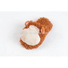 funny monkey plush indoor slipper