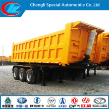 50ton Stone Sand Coal Loading Heavy Duty Tipper Trailer