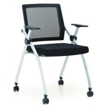 silla de conferencia de ventas caliente con ruedas para sala de conferencias