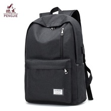 Högkvalitativ Oxford Material Outdoor Black Backpack