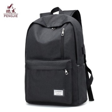 High Quality Oxford Material Outdoor Black Backpack