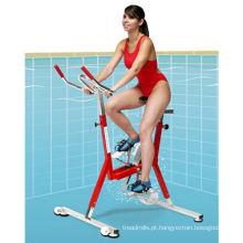 Aço inoxidável bicicleta aquática debaixo d'água para piscina clube
