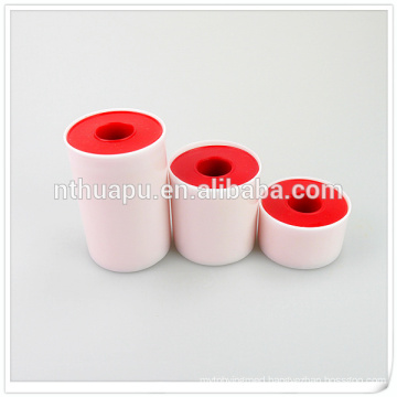 Tin tape zinc oxide plaster skin or white color