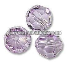 Nouveaux perles de verre d'améthyste
