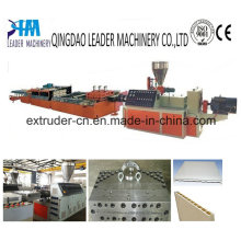 PVC WPC Wide Foam Door Plate Extrusion Line Plastic Machine