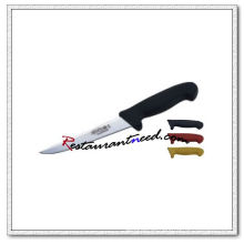 U405-2 6 '' Ausbeinmesser mit schwarzem Kunststoffgriff