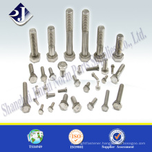 Main product hex bolt zinc finished Grade 10.9 high strength hex bolt Professional maufacturer of hex bolt