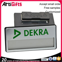 Promotional custom metal name badge maker