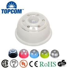 Inalámbrico PIR Auto 6 LED ajustable Cabinet Night Sensor LED de luz